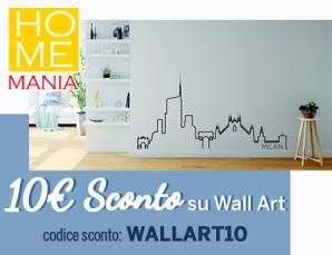Homemania 10euro di sconto su Wall Art