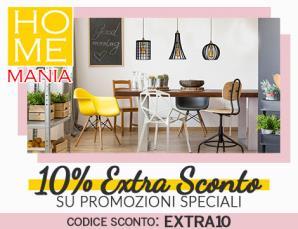 Homemania 10xcento extra sconto promozioni speciali