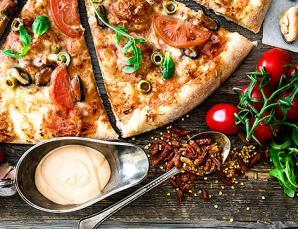 Menu pizza da asporto x2