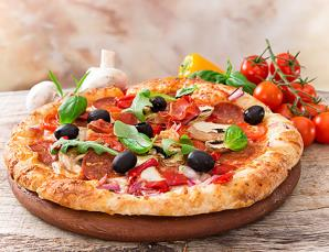 Menu pizza x2 con ricco a