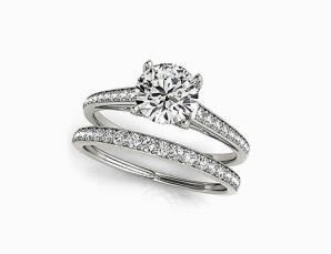 2 anelli con cristalli sw