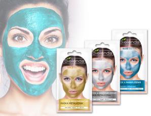 3 maschere detox metallic