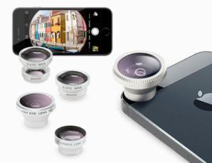 4 lenti per smartphone e