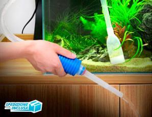 Aspiratore pulizia acquar