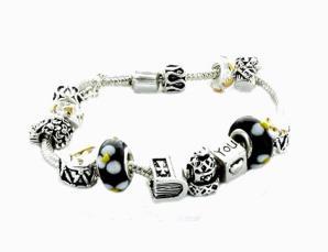 Braccialetti Beads neri