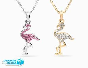 Ciondolo Flamingo e colla