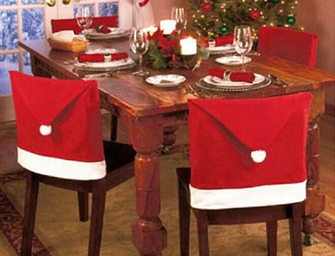 Fino a 6 coprisedia Babbo Natale