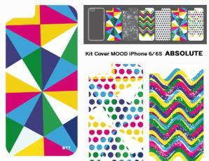 Kit cover Mood per iPhone