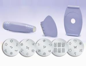 Kit per decorazione unghi