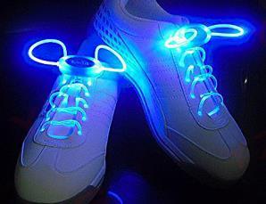 Lacci scarpe con LED lumi