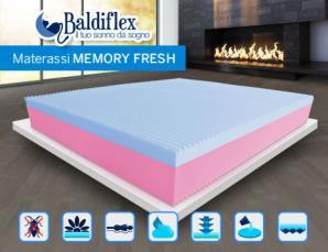 Materassi Baldiflex in memory fresh_N