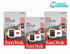 Micro SD SanDisk classe 1