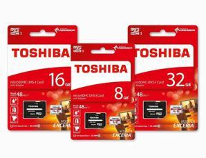 MicroSDXC Toshiba con ada