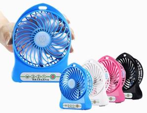 Mini ventilatore portatil