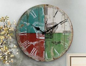 Orologio da parete in leg