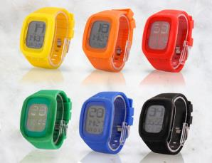 Orologio touch screen Led