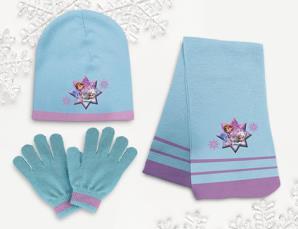 Sciarpa  guanti e cappell