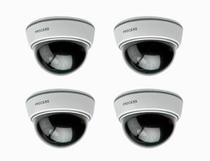 Set 4 telecamere dissuasi