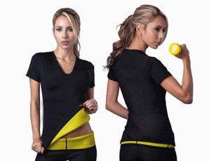 T-shirt donna effetto sli
