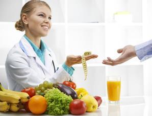 Visita nutrizionale, controllo e massaggio