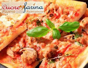 Teglia di pizza Cuore e Farina