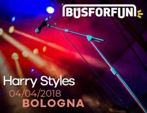 Bus concerto Harry Style da Firenze