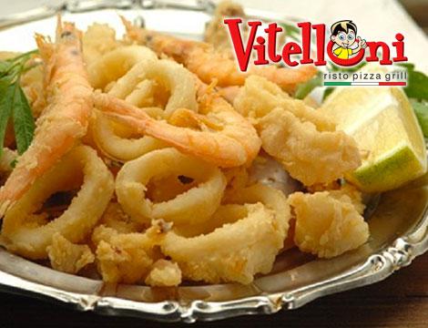 1 kg di frittura di pesce da Vitelloni Milano