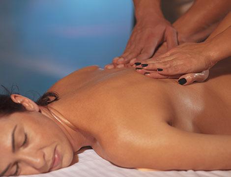 Un massaggio a 4 mani
