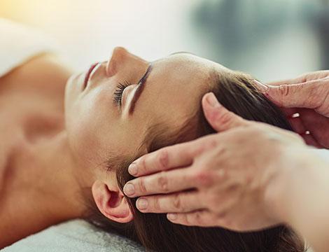 Un massaggio CRANIO SACRALE