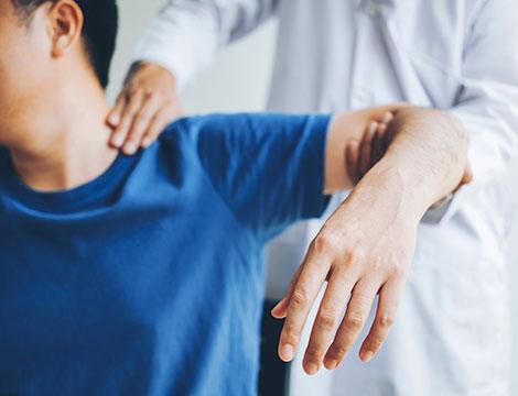 Massaggio fisioterapico