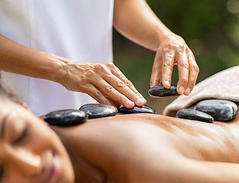 massaggio hot stone da 40 minuti