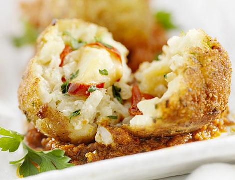 arancini o cannoli mignon da Masterfood Catering_N