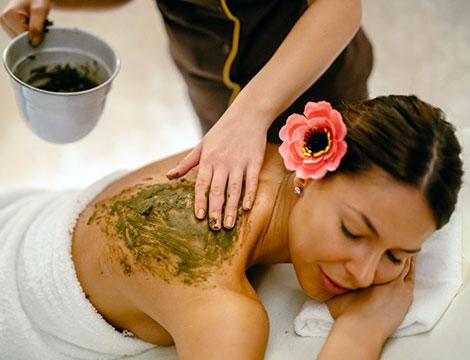 1 seduta di argilloterapia con massaggio