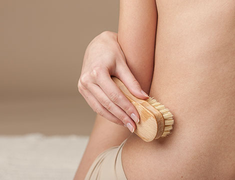 seduta di body brushing da 60 minuti