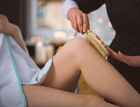 1 seduta di body brushing