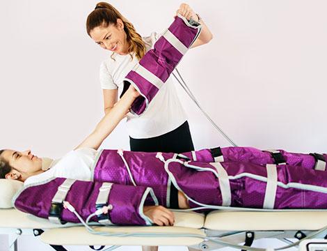 10 pressoterapie abbinate a massaggio