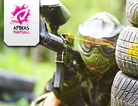 2 ore di paintball