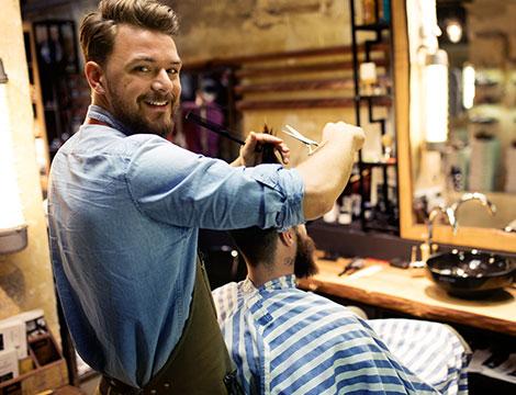 2 Sedute hairstyle per uomo
