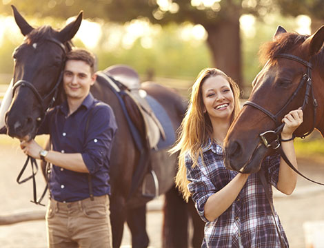 3 lezioni di equitazione base