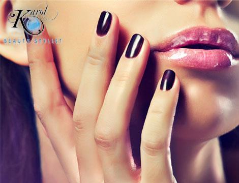 3 manicure con smalto_N