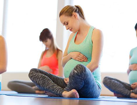 3 mesi di lezioni di corso pre-parto