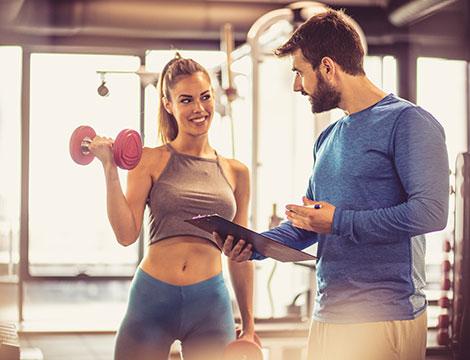 3 o 5 lezioni individuali con personal trainer