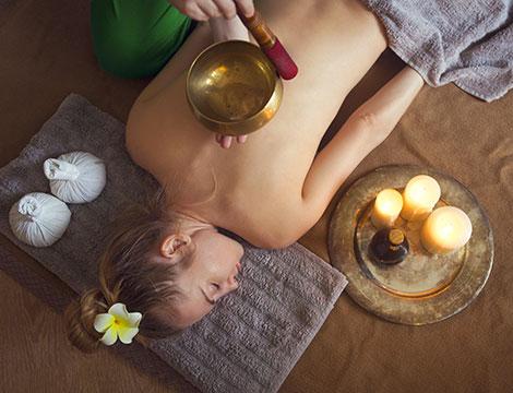 4 massaggi Rituale degli elementi