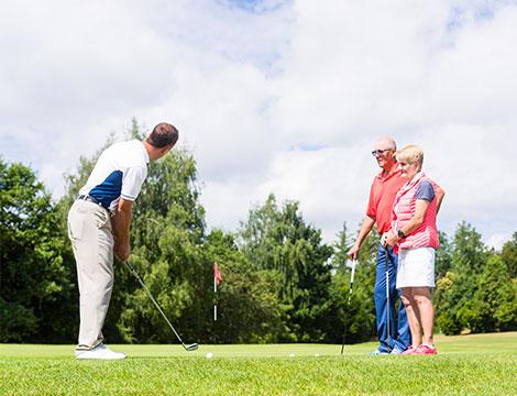 5  lezioni di golf