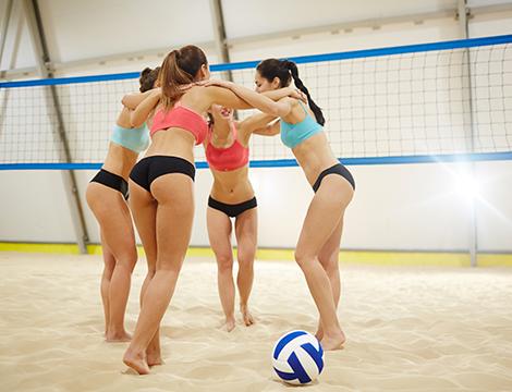 5 lezioni di beach volley indoor