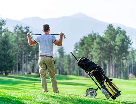 5 lezioni di golf per una o due persone