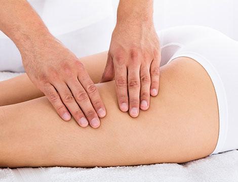 5 massaggi linfodrenanti Vodder con 5 applicazioni di linfotaping_N