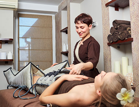 Sedute di pressoterapia da 30 minuti più massaggio drenante