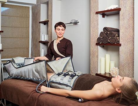 5 sedute pressoterapie con infrarossi e elettrostimolazioni