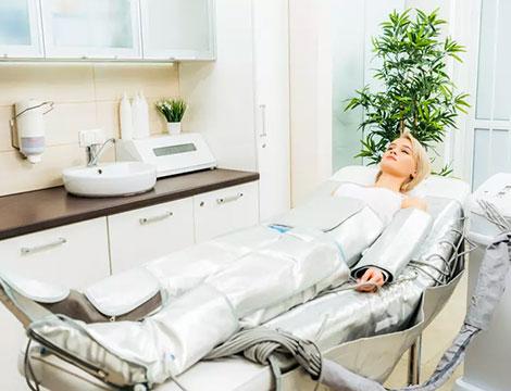 5 sedute di pressoterapia